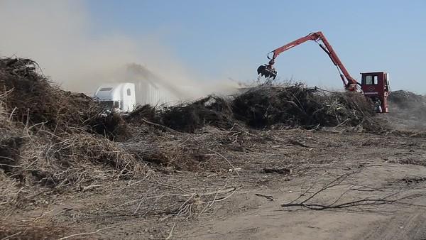 "Videos of Grinding the ""Burn"" Pile - 3-9-2012"