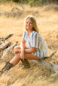 Kayla (Senior Portrait Photography) @ Natural Bridges State Park, Santa Cruz, California