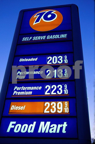 Price of gas in 2004