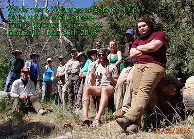 2016 Superstition Wilderness