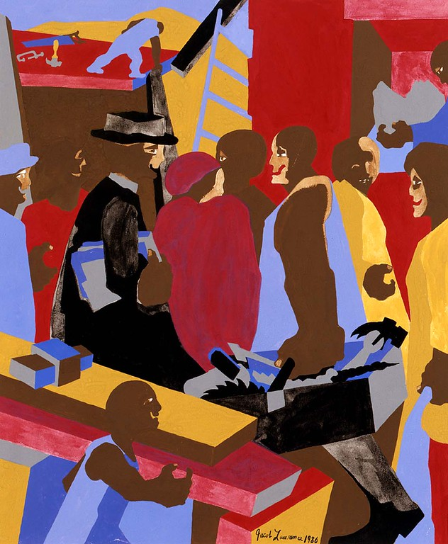 "Jacob Lawrence, ""Community"" (1986)"
