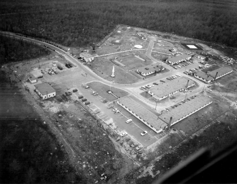PR69 Coventry RI This site had been deactivated and and converted to the Headquqrters of the 24th Air Defense Artillery Group. Photo taken 11 May 1972.