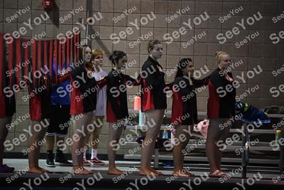 Fort Dodge Vs Algona Vs Perry Girls Swimming
