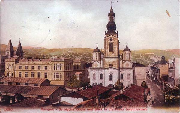 Nova pravoslavna, Saborna crkva podignuta 1872. godine.