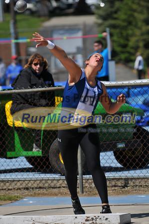 Women's Shot Put - 2012 Gina Relays