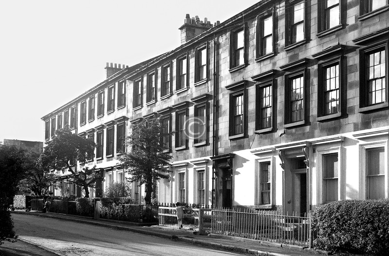 Buccleuch St., north side between Dalhousie St and Scott St.    August 1974