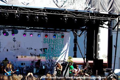 2011 Sunset Strip Music Festival - Motley Crue - Public Enemy - Bush - plus guests - West Hollywood, CA - August 18 - 20, 2011