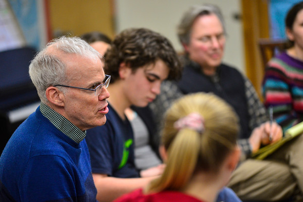 Bill McKibben talks with students - 011520