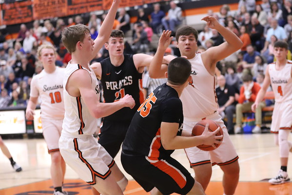 14V Boys Basketball:  Wheelersburg at West 2020
