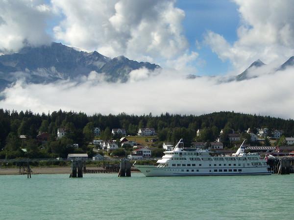 Cruising Alaska, August 2003