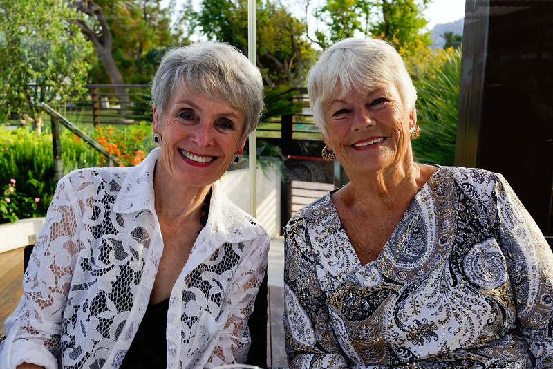 Gwyn Sheldon and Donna Greeley