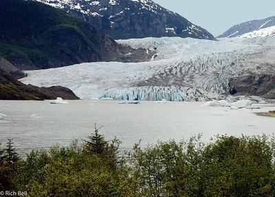 Alaska, Mendenhall Glacier, Juneau