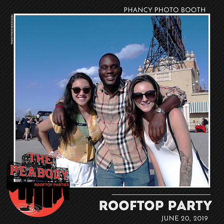 Peabody Roof top party  June 20