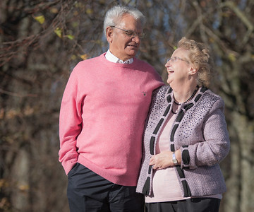 The Dean's Family photo shoot to Celebrate  Mum & Dad's 50th Golden Wedding.
