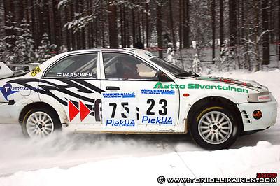 25.01.2009 | Vaihdehalli rallisprint, Pieksämäki