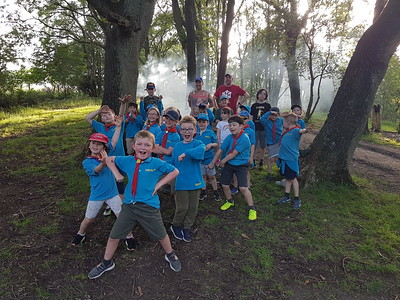 2019-06-28 Beavers visit Consall Scout Camp