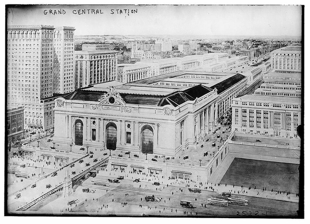 Description of . Grand Central Station, ca. 1910-1915 (Library of Congress)