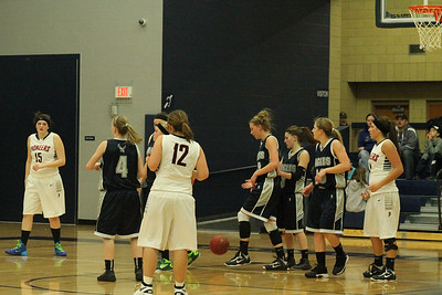 Girls' Basketball v. Pierz 1-31-14