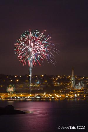 Cobh Regatta Fireworks - 16/08/15