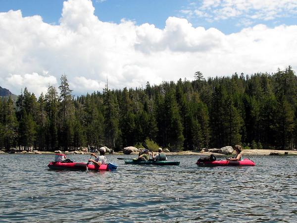 Silver Lake Kayaking 2005