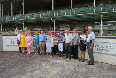 Webster at Churchill Downs, June 9, 2018