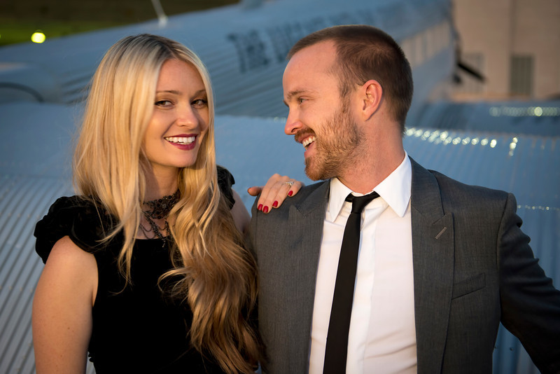 Lauren and Aaron Paul.jpg
