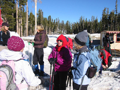 Snow Shoeing - Echo Lakes Snow Park - Feb '07