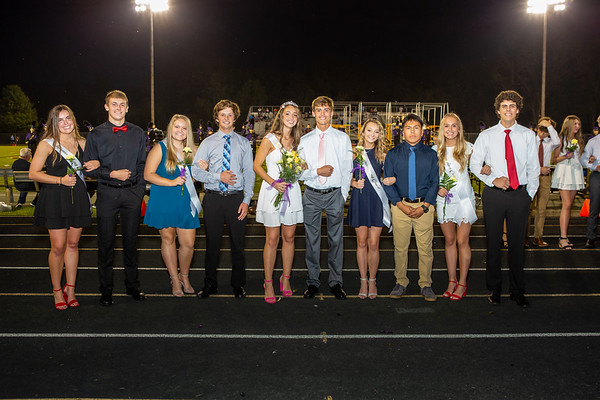 2019-09-20 Homecoming Court