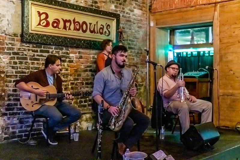 Band at Bamboula's