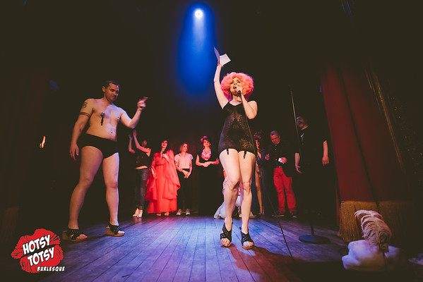 A Hotsy Totsy Burlesque to Quantum Leap