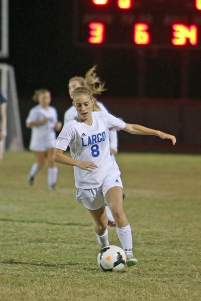 12-9-16 (Var Girls Soccer) Boggie vs Largo