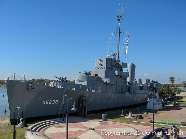 USS Stewart (DE-238) – Galveston, TX