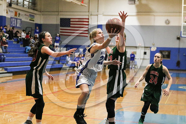 FUHS GirlsJV Basketball vs Eureka @ Home 1-18-19
