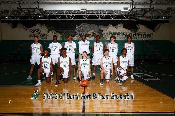 2020-2021 B-Team Basketball Boys