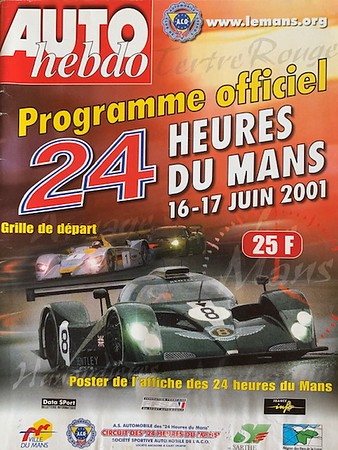 2001 Le Mans - with Debs