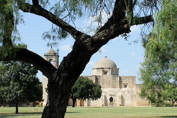 Mission San Jose y San Miguel de Aguayo, San Antonio, TX