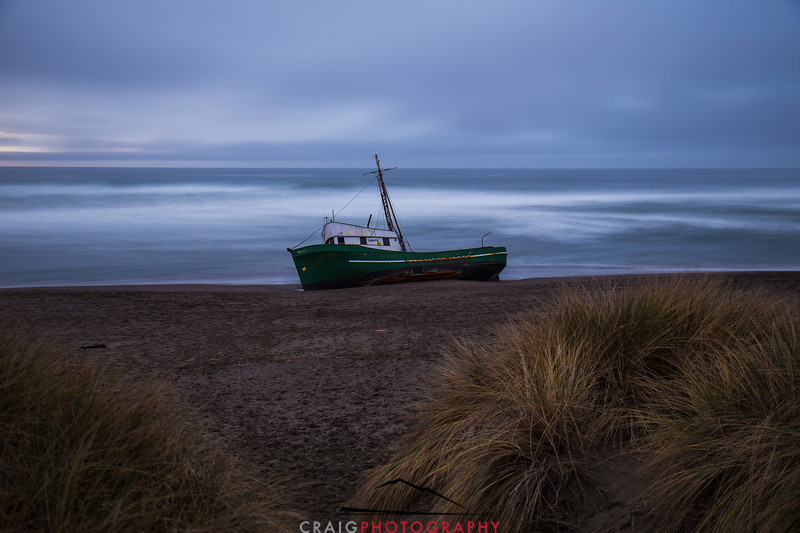 Salmon Creek Shipwreck  #6