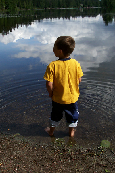 2004/06 - Fishing with Grandpa Dennis