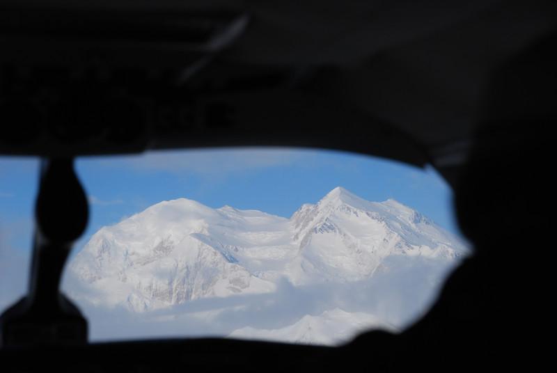 First view of Denali summit