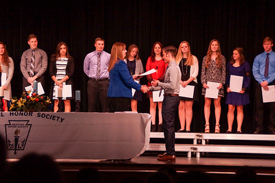 National Honor Society Inductions (2016-2017)