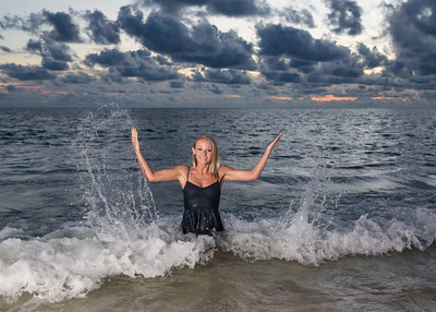 Kerry, Kelcie and Noah Graduation Beach Trip Panama City Beach 2015