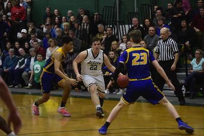 MHS vs Milton boys basketball playoffs