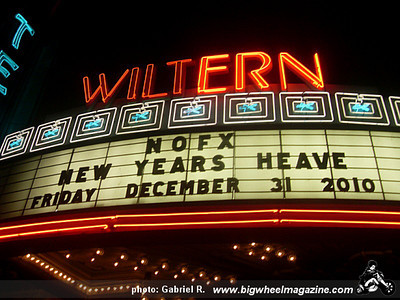 New Years Heave! with NOFX - Youth Brigade - Dead to Me - Old Man Markley - at The Wiltern Theater - Los Angeles, CA - December 31, 2010