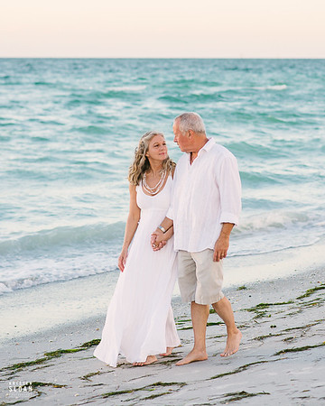 Sand Key Clearwater Beach Vow Renewal