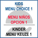 491 Kids menu choice 1