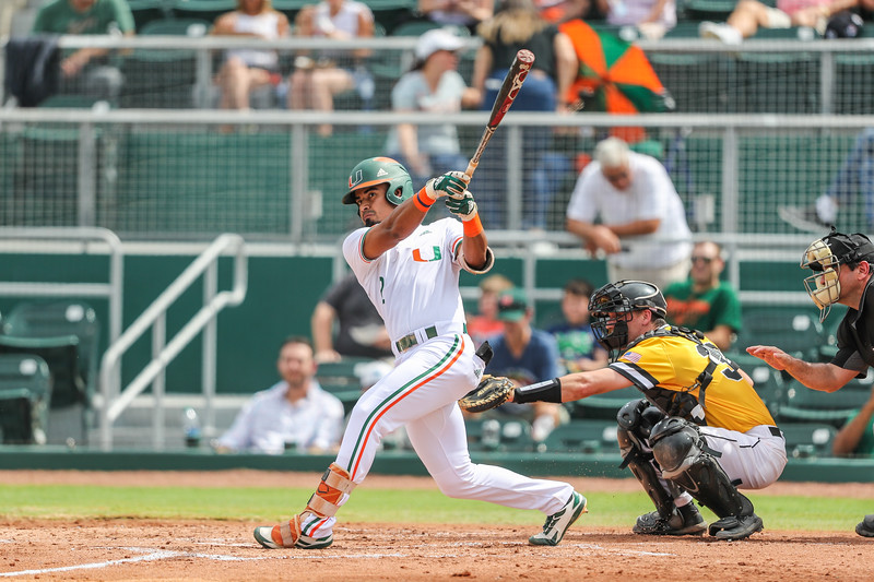 University of Miami vs. UMBC. 2019