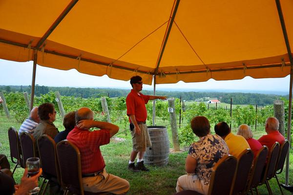 Raffaldini Vineyards Yadkin Valley Wine Pairing Event