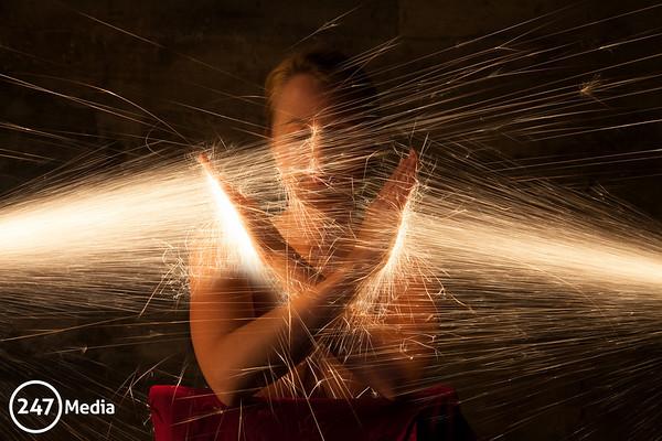 Fire Photoshoot