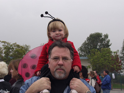 Halloween Parade at Meadows Elementary School