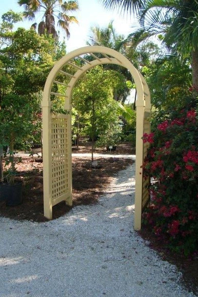 95 - 360741 - Sanibel FL - Spindle Top Arbor in yellow